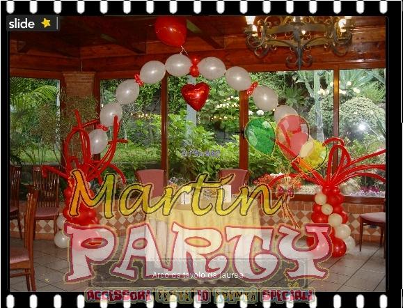 Martin party palloncini allestimenti e decorazioni per for Decorazioni per feste