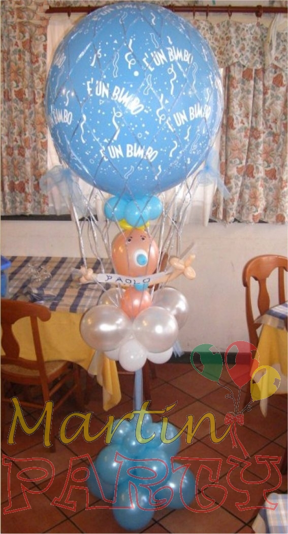 Martin party palloncini allestimenti e decorazioni per for Idee palloncini per battesimo